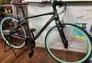 ビアンキ クロスバイク ローマ4。 & 安全ピンを使わないゼッケン留めなど。