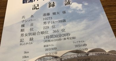 新潟ハーフマラソン参戦してきました〜٩( 'ω' )و     & 人気ロードホイール フルクラム レーシング3。